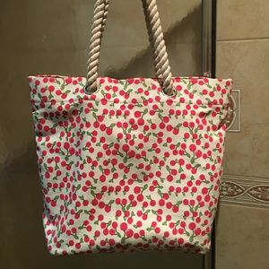 Forever 21 Cherry Tote Bag